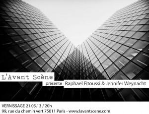 Exposition de Jennifer WEYNACHT et Raphael FITOUSSI